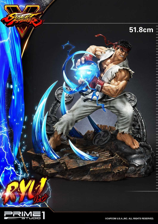 Ryu is Hadouken Ready in New Prime 1 Studios Statue