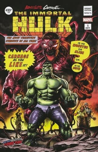 Speculator Corner: Absolute Carnage: Immortal Hulk #1, the Hot Comic Next Wednesday?