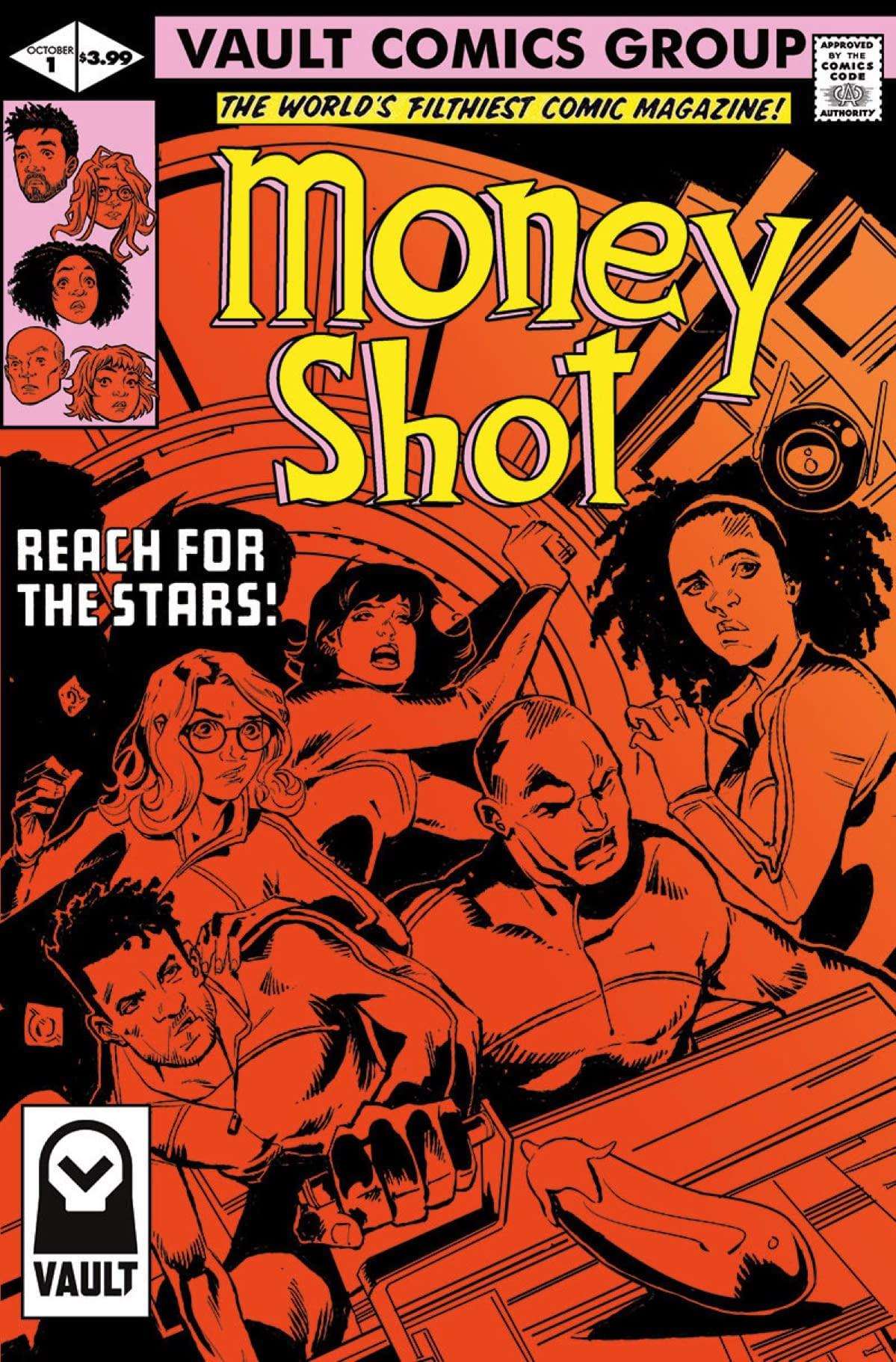 Vault Partners with ComicHub to Market Money Shot, Looking for that Once & Future Magic