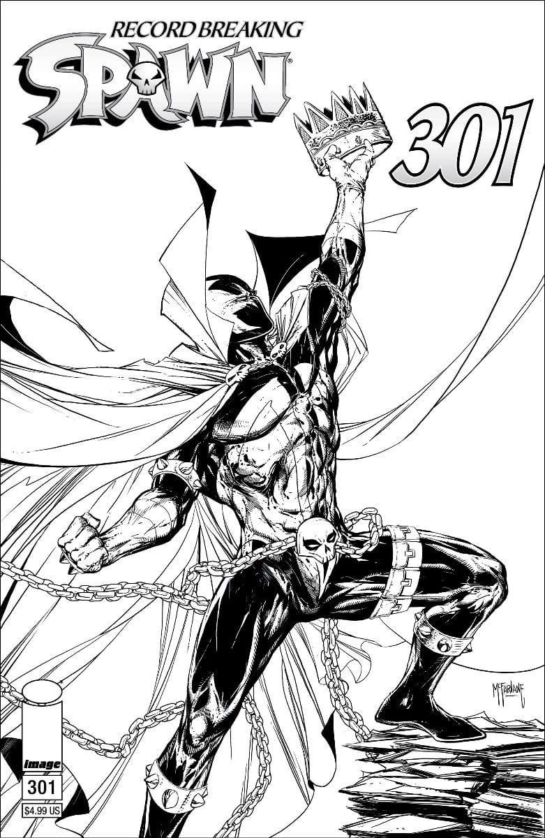 Image Changes Clayton Crain's Spawn #301 Variant, Calls it Surprise; Plus: McFarlane, Caputo