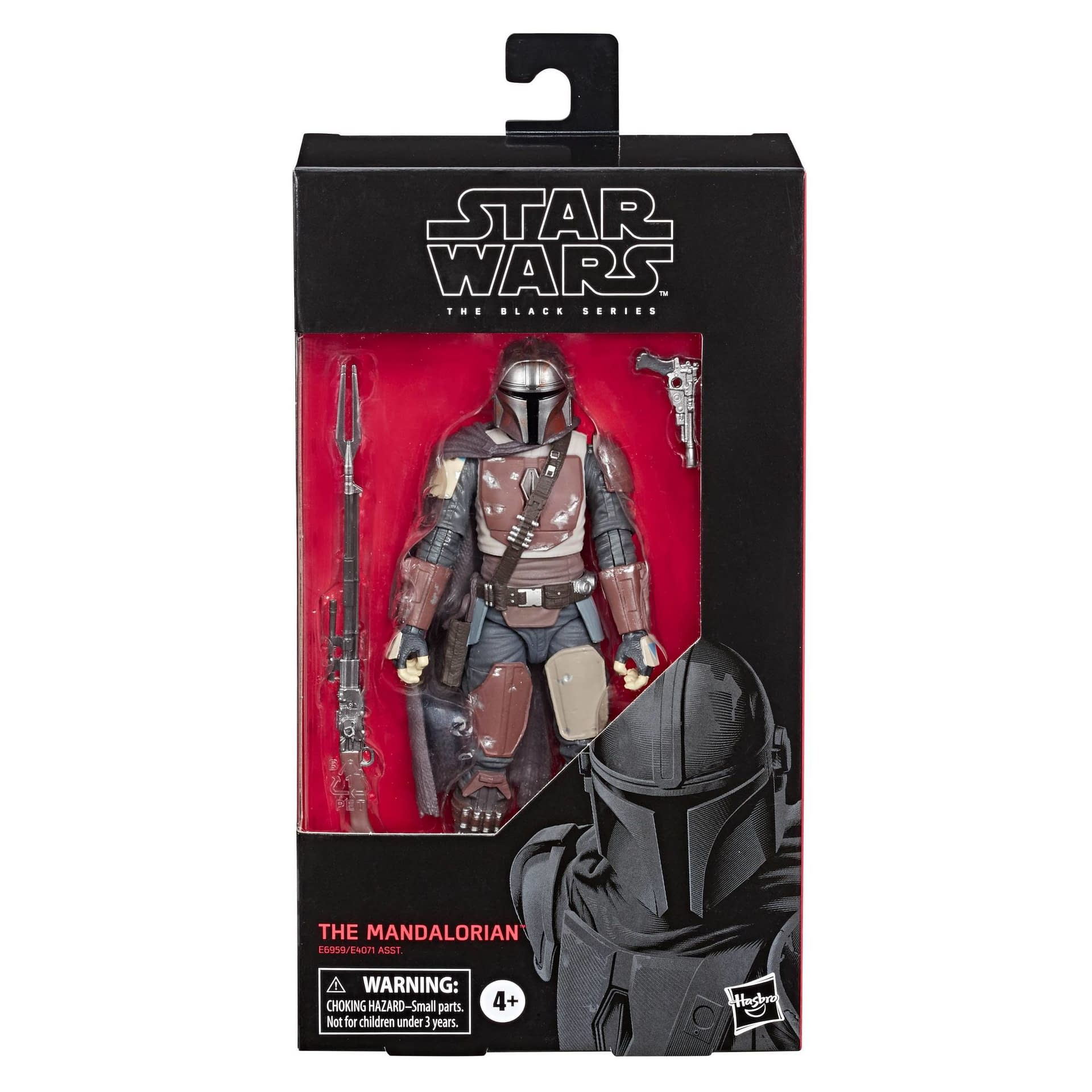 Mandalorian Star Wars The Black Series Figures Coming Next Week