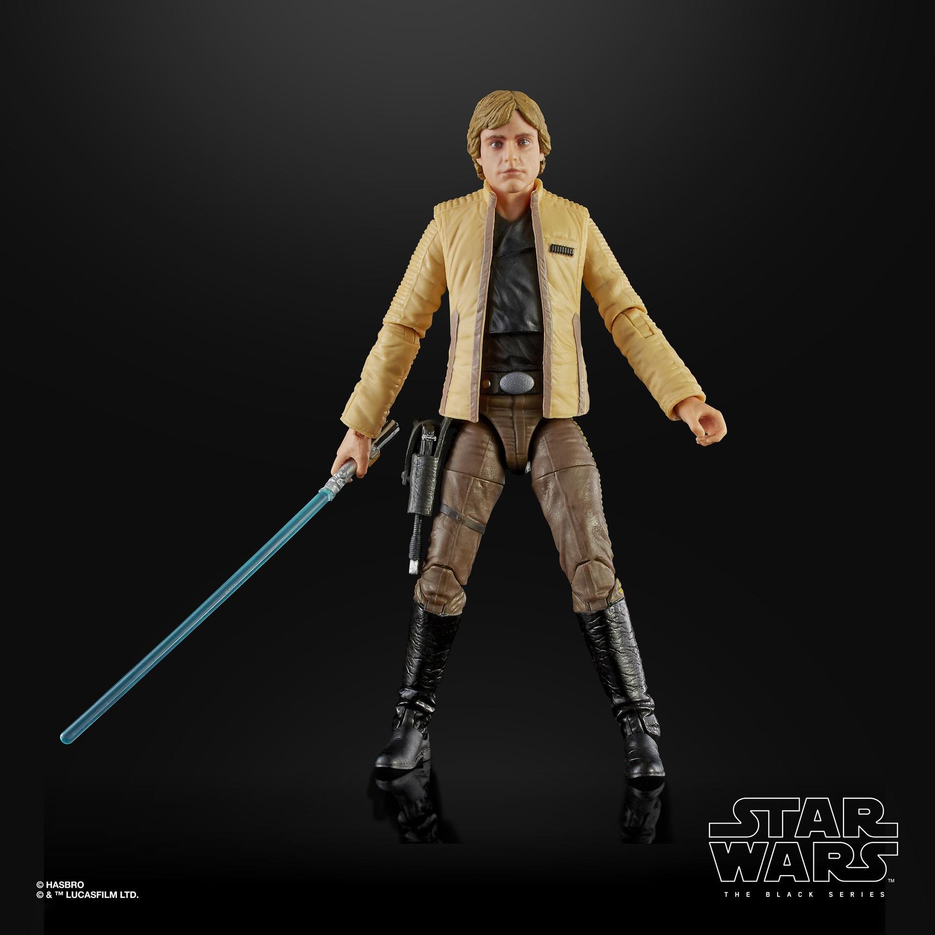 Luke Skywalker Gets a Europe and UK Exclusive Black Series Figure