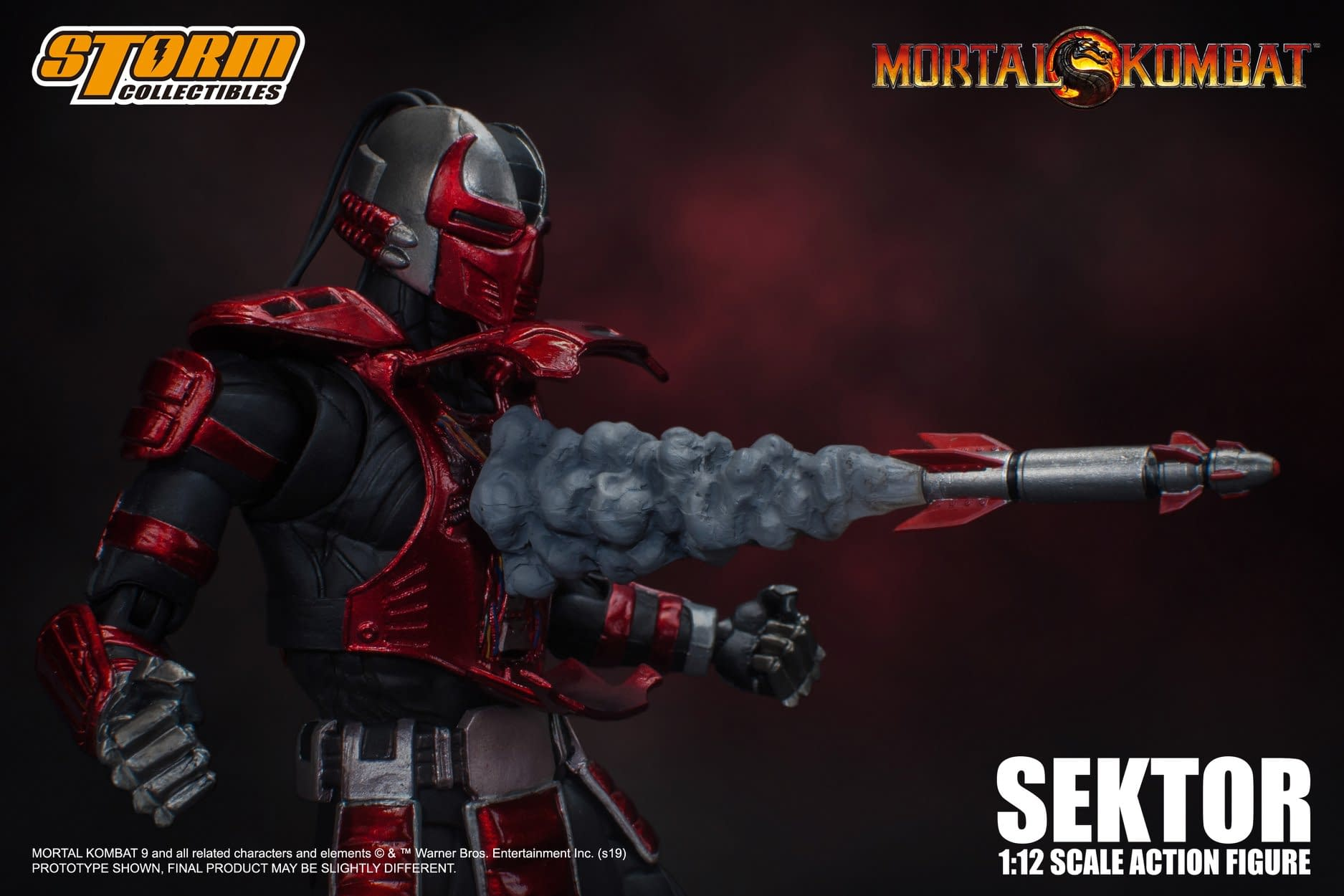 """Sektor Enters the """"Mortal Kombat"""" from Storm Collectibles"""