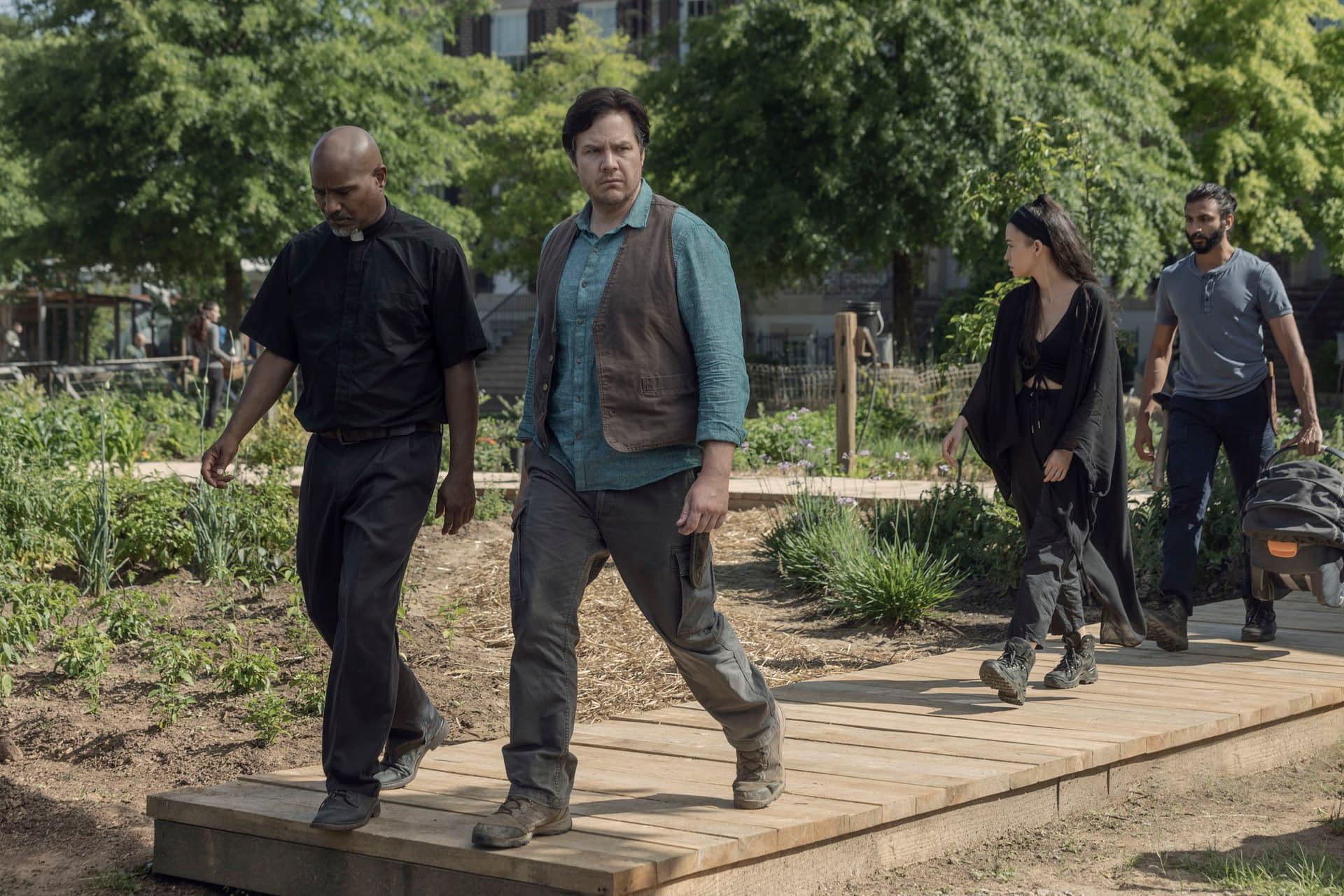 """The Walking Dead"" Season 10 ""Lines We Crossed"": Angela Kang, Greg Nicotero Craft Strong, ""Spacey"" Return [SPOILER REVIEW]"