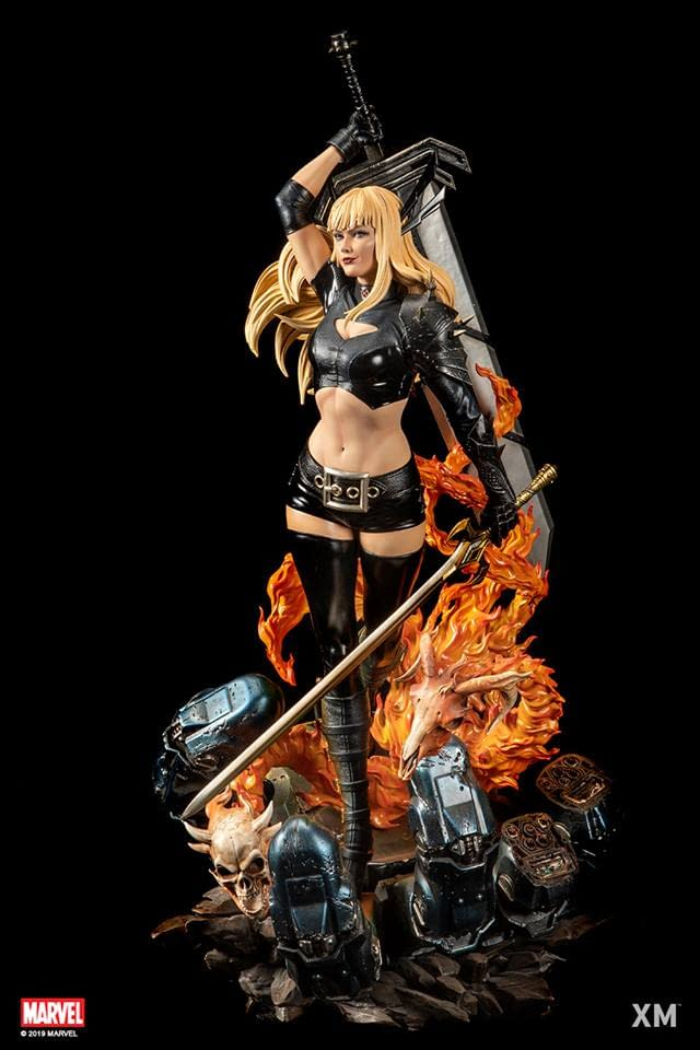 Magik Raises Some Hell in New XM Studios Statue