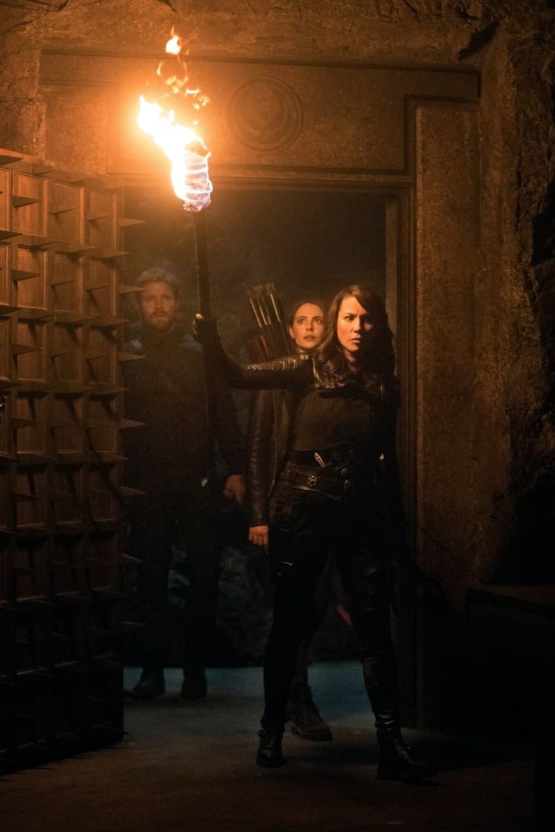 """Arrow"" Season 8: Oliver, Thea & Talia al Ghul Take Their ""Leap of Faith"" [SPOILER REVIEW]"