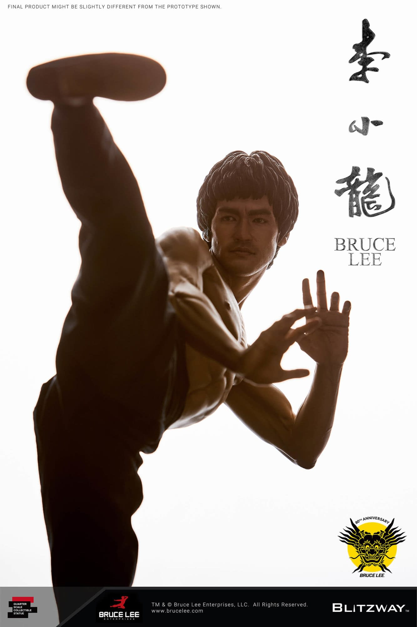 Bruce Lee Gets An 80th-Anniversary Tribute Statue from Blitzway