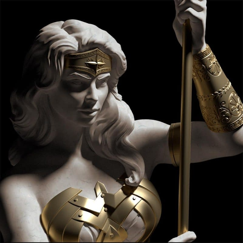 Wonder Woman Goes Classical Greek in New Cryptozoic Statue