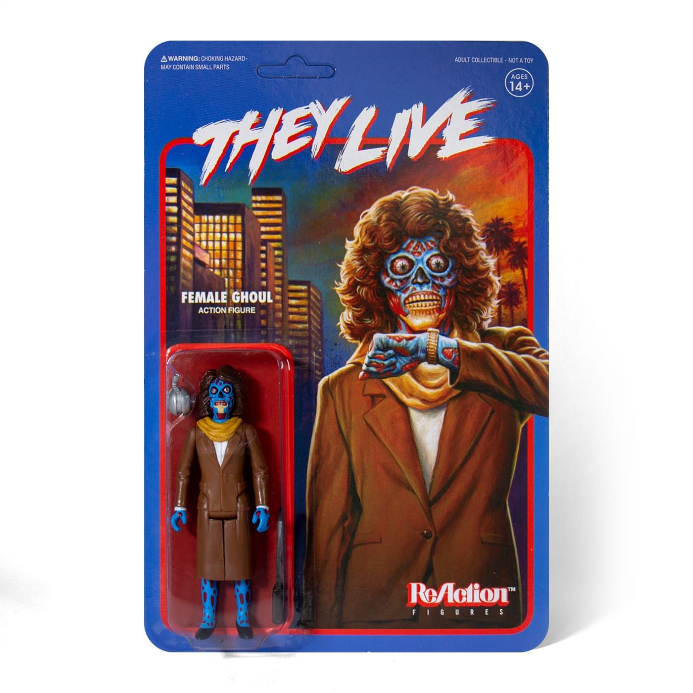 """""""They Live"""" ReAction Figures Are Here and They Must Obey"""