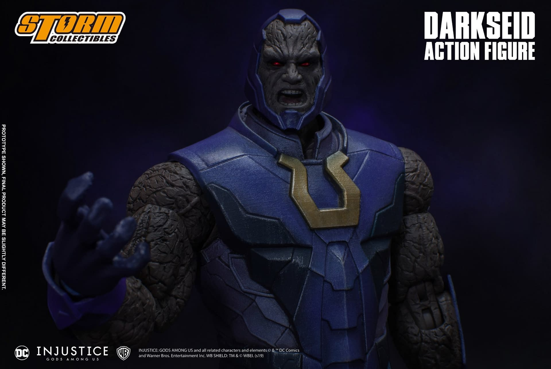 Darkseid Has Arrived in New
