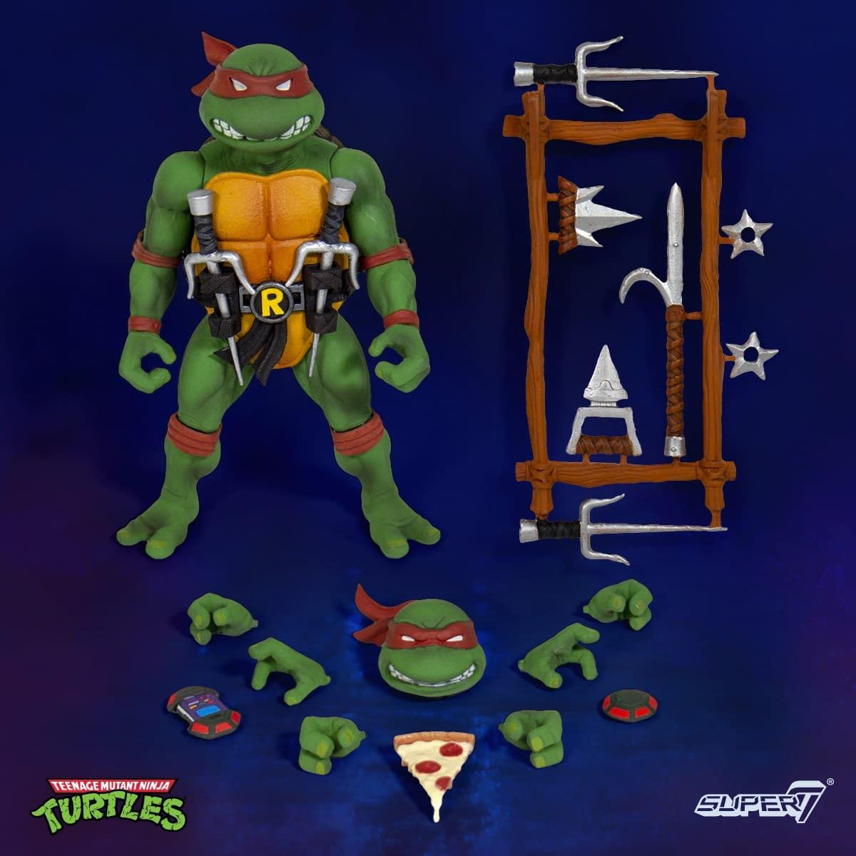 Teenage Mutant Ninja Turtles Super 7 Figures Revealed