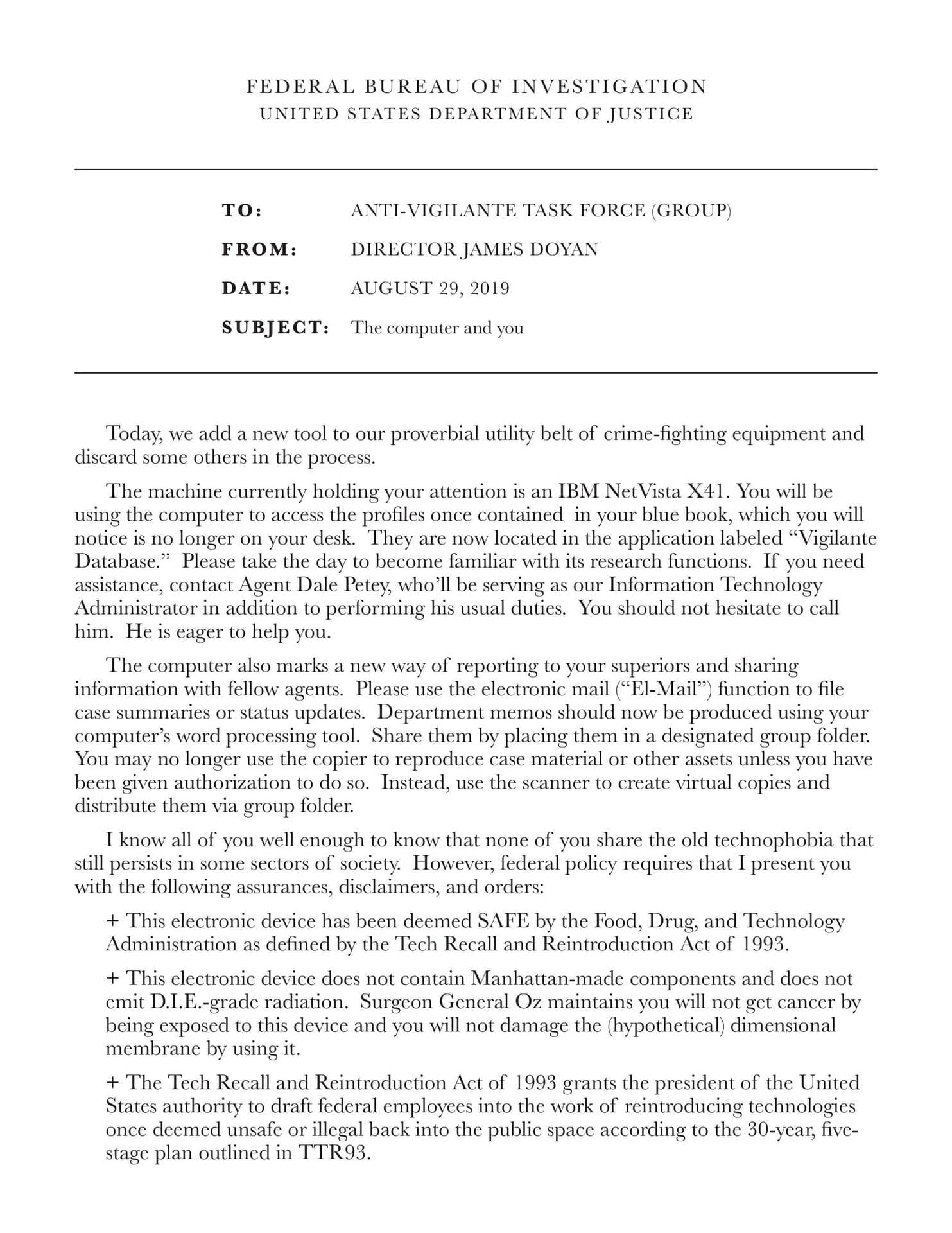 """Watchmen"": ""Peteypedia"" Files Offer New Info on Veidt's Fate, Rorschach's Journal & More"