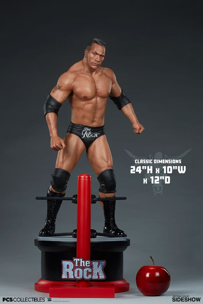 The Rock Is Getting a New Statue from Sideshow and PCS [First Look]