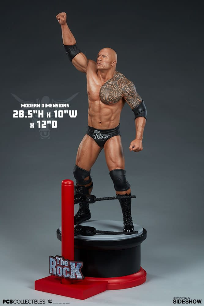 The Rock Is Getting a New Statue from Pop Culture Shock [First Look]