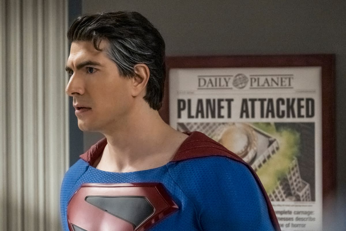 """""""Crisis on Infinite Earths: Part Two"""": Brandon Routh's Superman Reveals Lois Lane & The Daily Planet's Joker-Fueled Fate [PREVIEW]"""