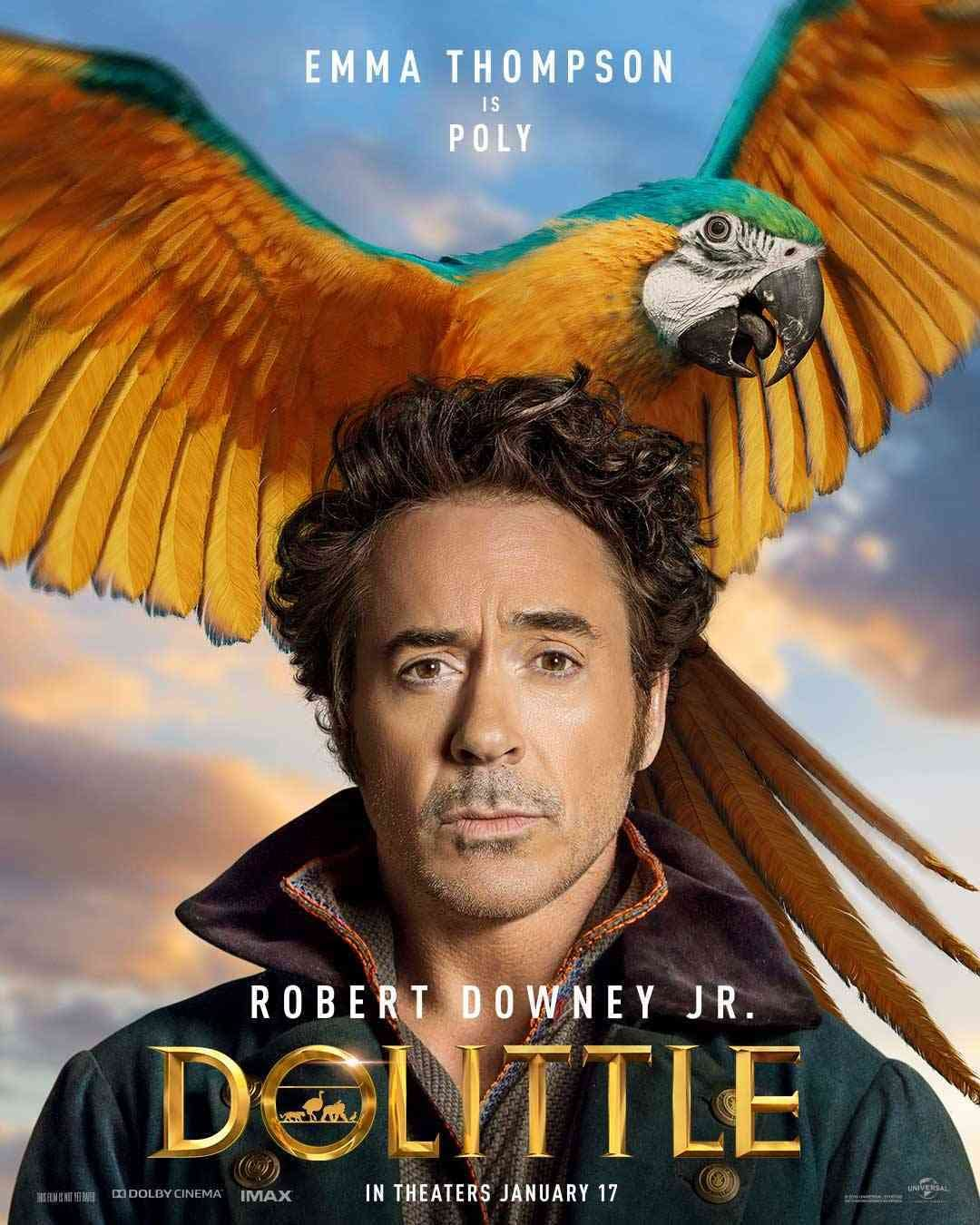 'Dolittle': Eight Character Posters Revealed For Each Character