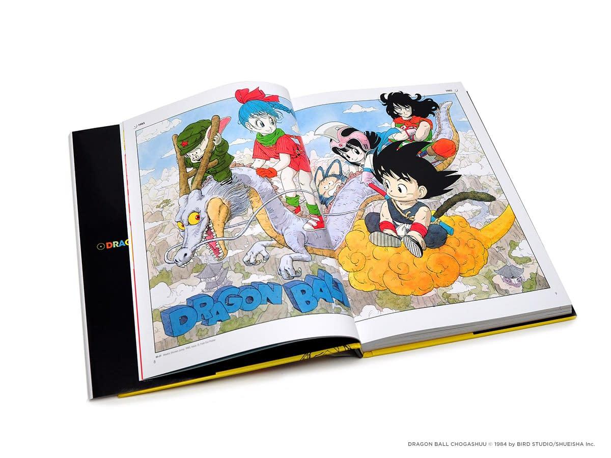 Dragon Ball: A Visual History Book Review