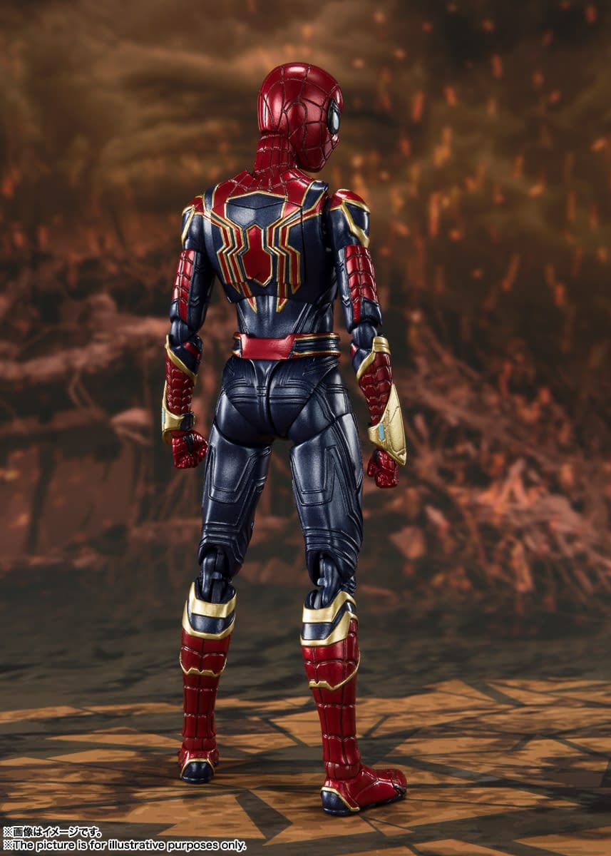 Iron Spider Is Ready for His Final Battle with New S.H. Figuarts Figure