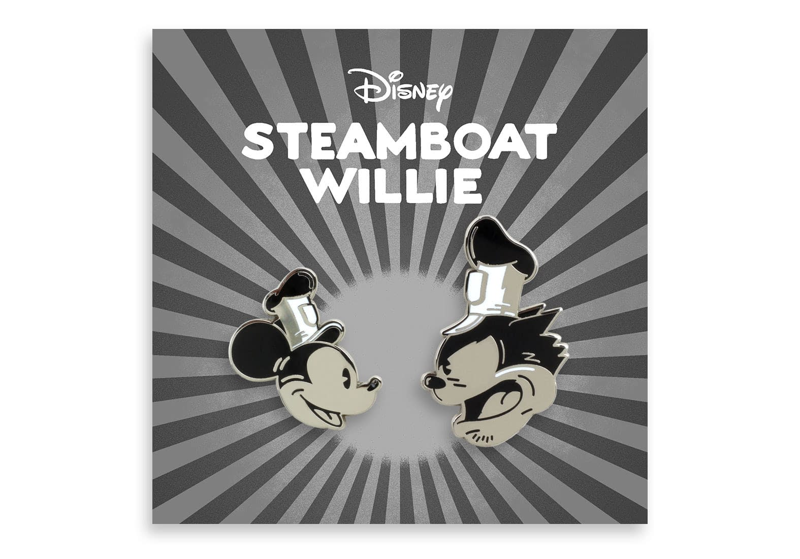 Steamboat Willie pin