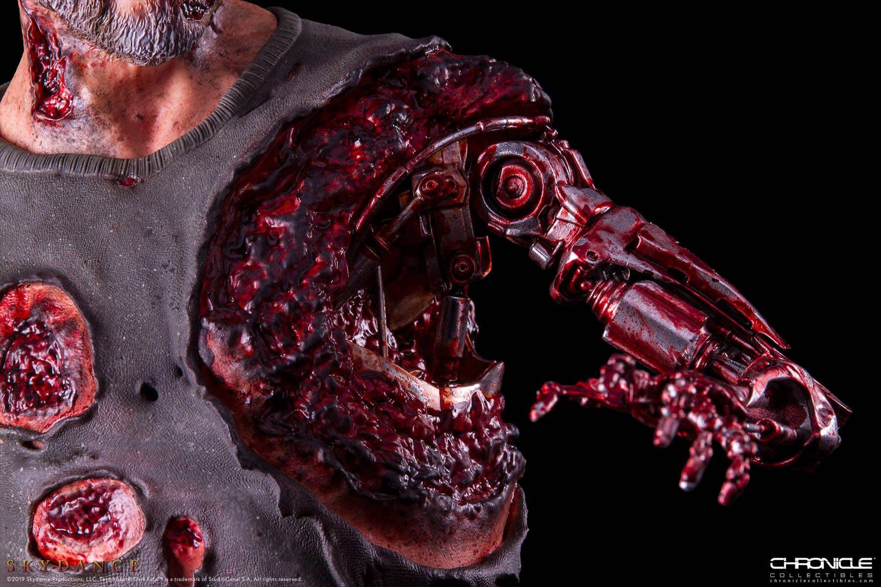 The Terminator Gets down and Dirty with New Chronicle Collectibles Statue