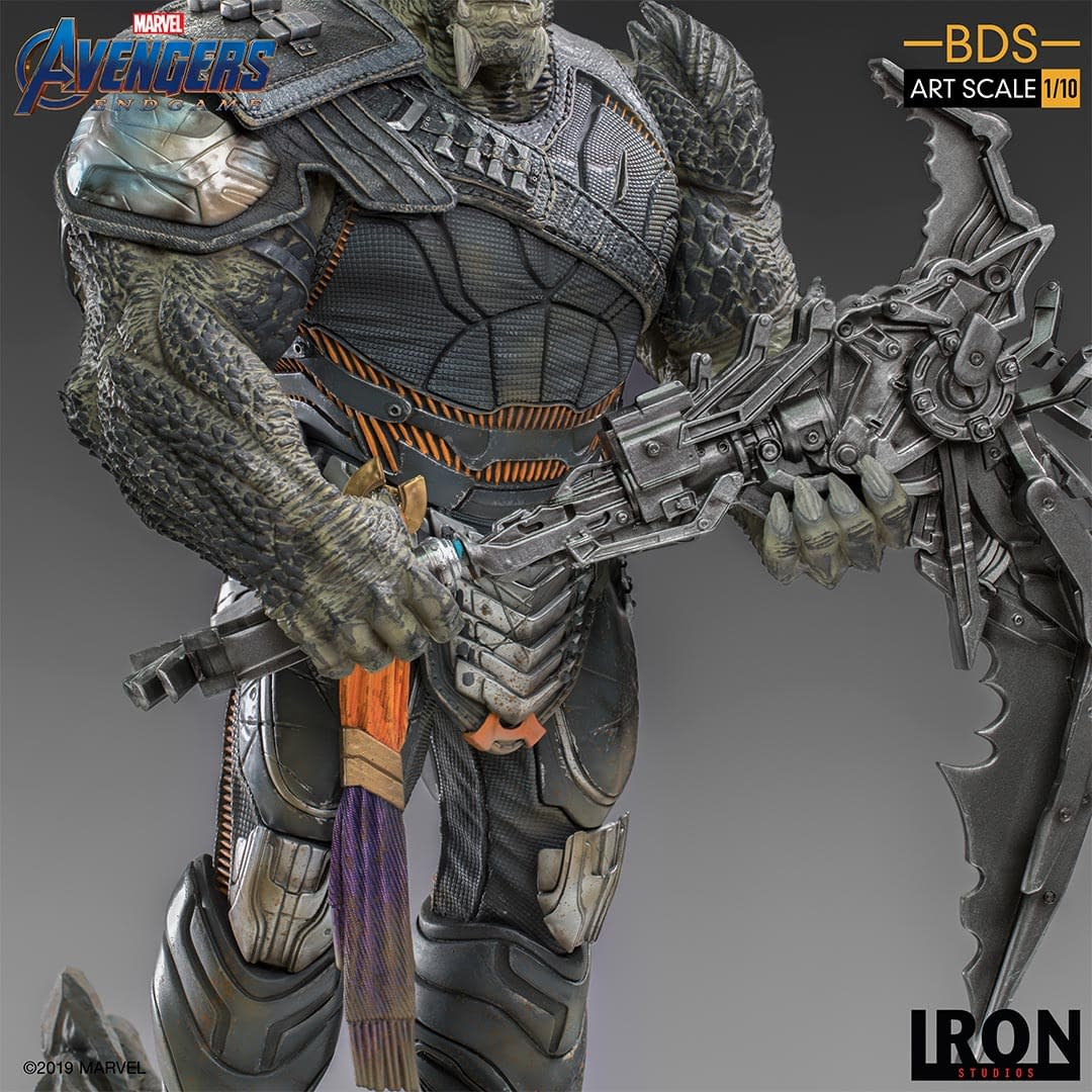 Cull Obsidian Gets Brutal with New Statue from Iron Studios