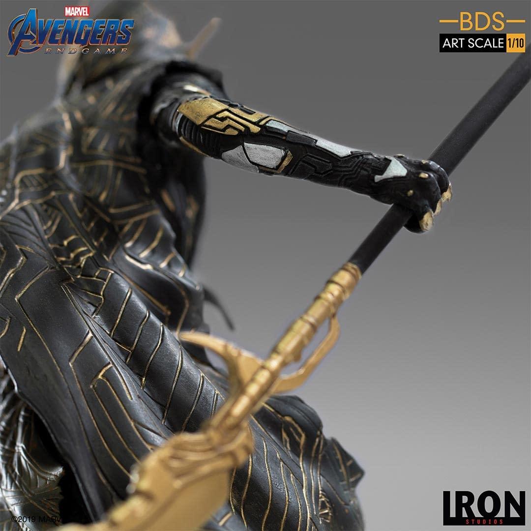 Corvus Glaive Wants Revenge with New Iron Studios Statue