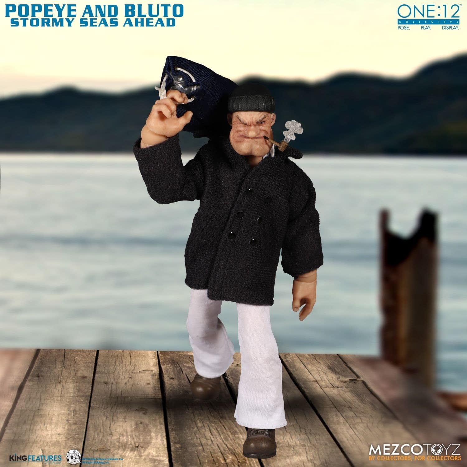 Popeye is Ready to Knock Some Skulls with New Mezco Two-Pack