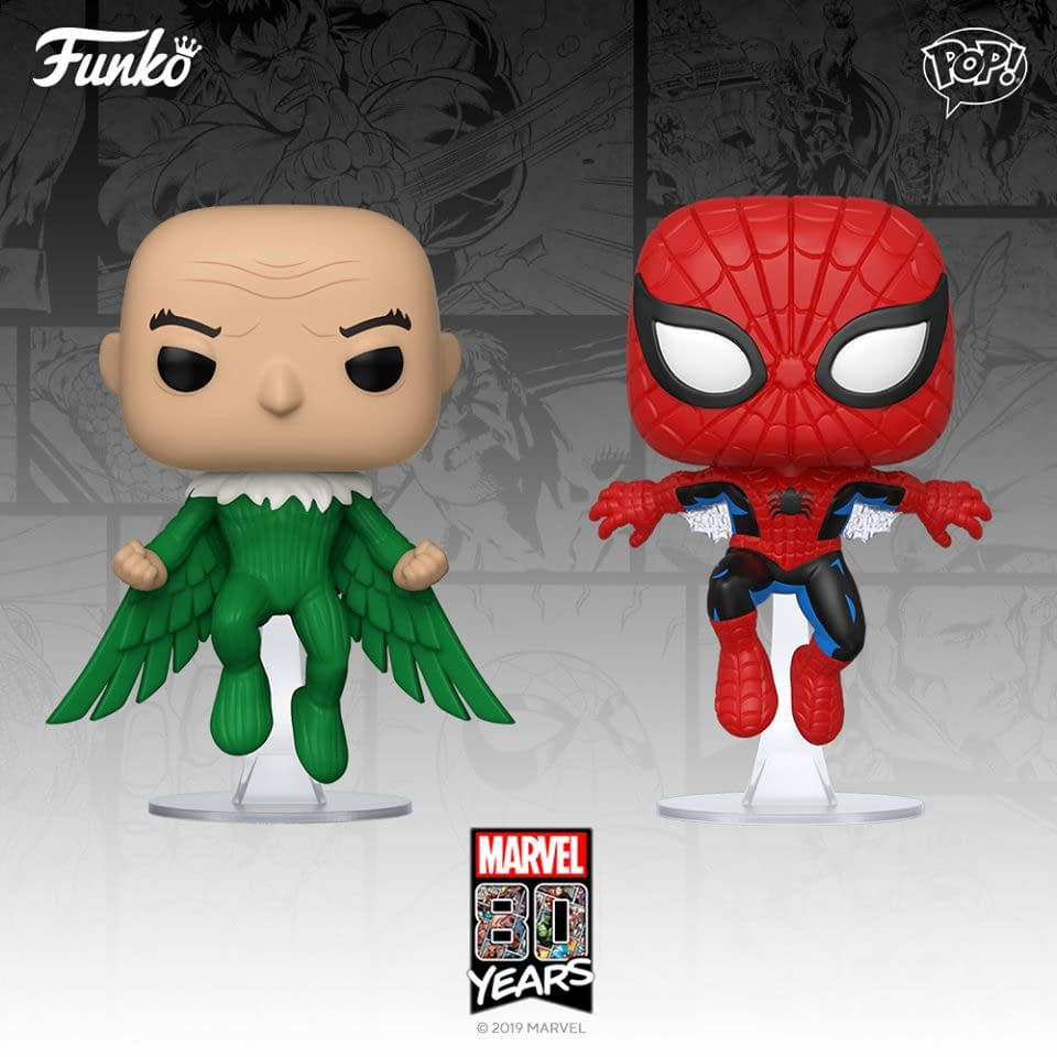 Marvel 80th Anniversary Gets More Funko Pops Coming Soon