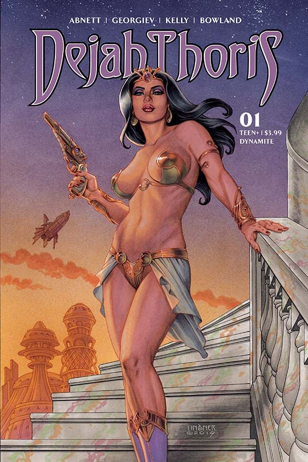 """Dan Abnett's Writer's Commentary on Dejah Thoris #1 – """"The Trap Is About To Close"""""""