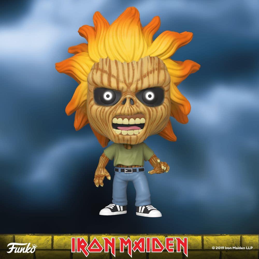 Iron Maiden Funko Are Having Us Run to the Hills