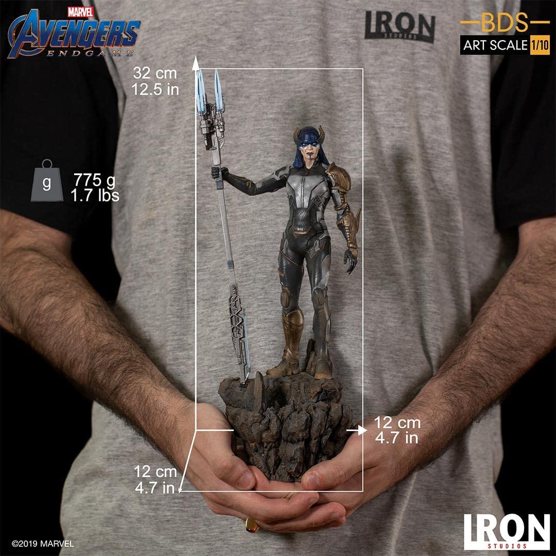 Proxima Midnight Prepares for War in New Iron Studios Statue