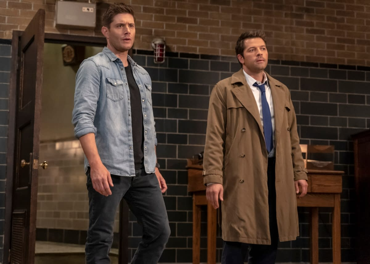 """""""Supernatural"""" Season 15 """"Our Father, Who Aren't in Heaven"""": Think YOUR Holiday Family Reunions Are Awkward? [PREVIEW]"""