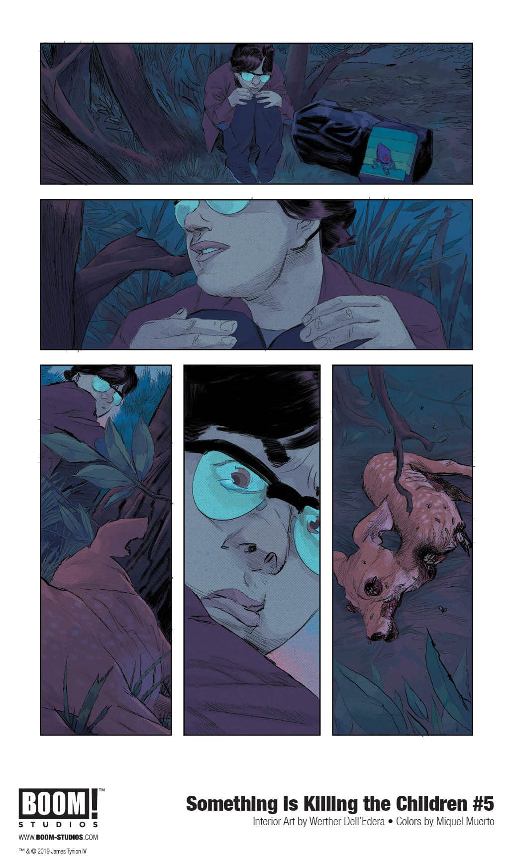 First Look at January's Something is Killing the Children #5
