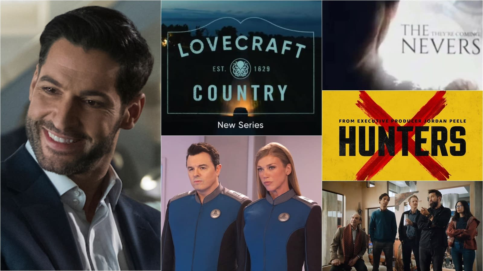"""""""The Nevers"""", """"Mythic Quest"""", """"Lucifer"""" & More: The Bleeding Cool Top 30 TV Series Influencers 2020 (#15-#11)"""