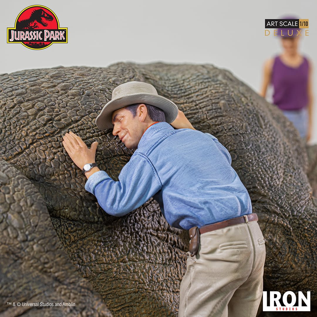 Jurassic Park Guest Stop to Help in the New Iron Studios Diorama