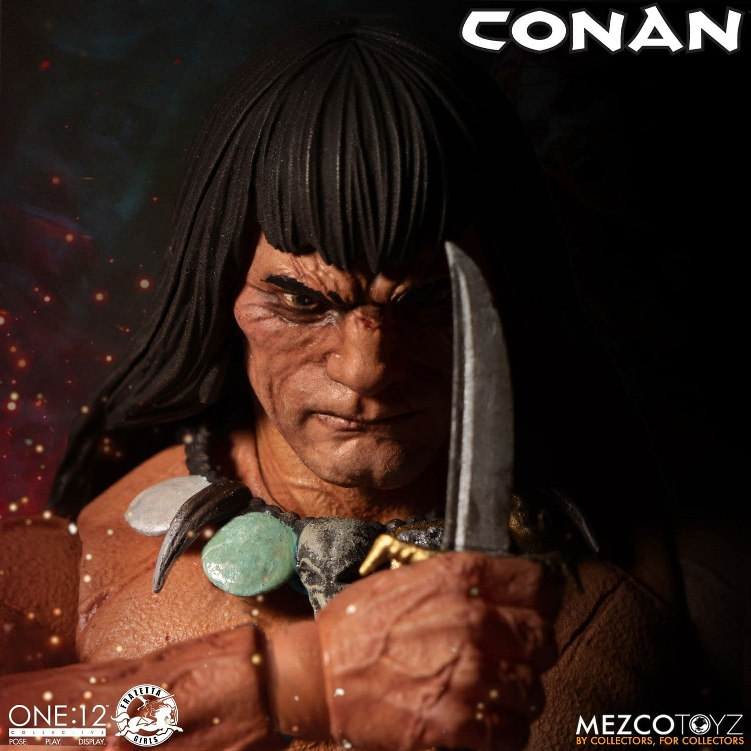 Conan the Barbarian Arrives with New Figure from Mezco Toyz