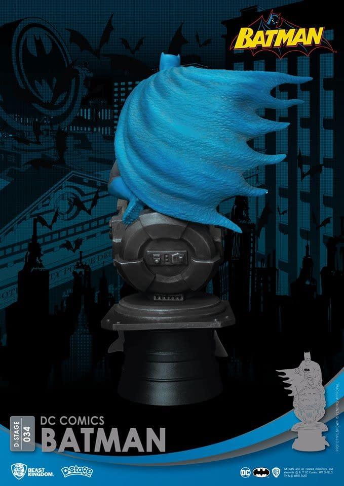 Beast Kingdom Gives Us Batman and Joker Statues