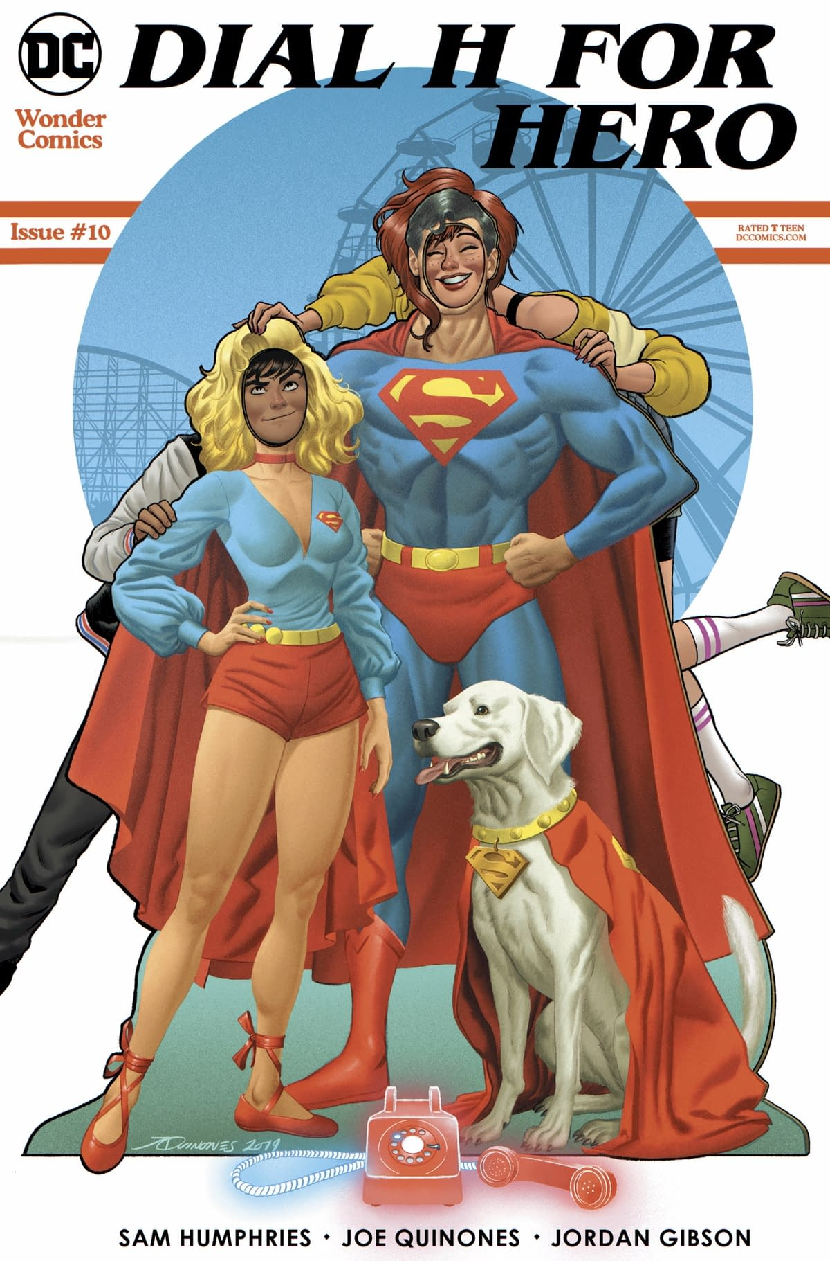 """REVIEW: Dial H For Hero #10 -- """"This Issue Falls Down Very Hard"""""""
