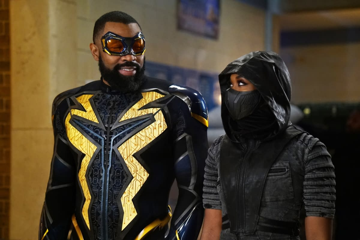 """""""Black Lightning"""" S03E10 """"The Book of Markovia: Chapter One: Blessings and Curses Reborn"""": Odell Dead Man Walking? Gambi Goes Stalker-ish [PREVIEW]"""