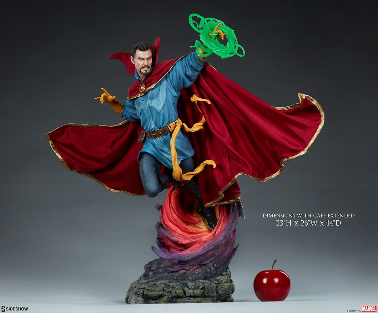 Doctor Strange Casts a Spell With New Statue From Sideshow Collectibles