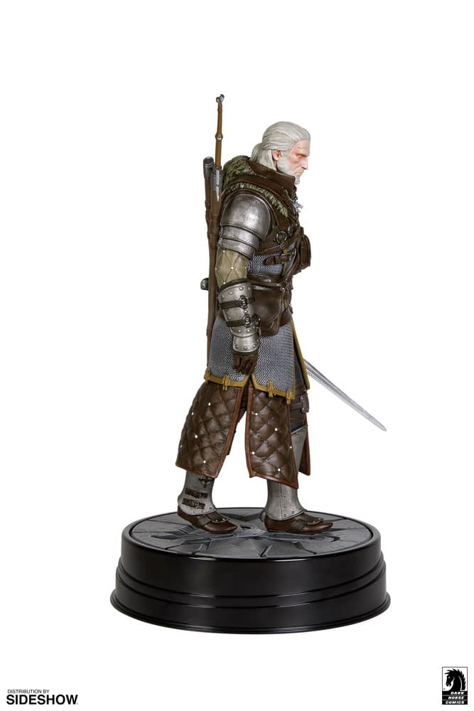 Toss a Coin to These New Witcher Statues From Dark Horse