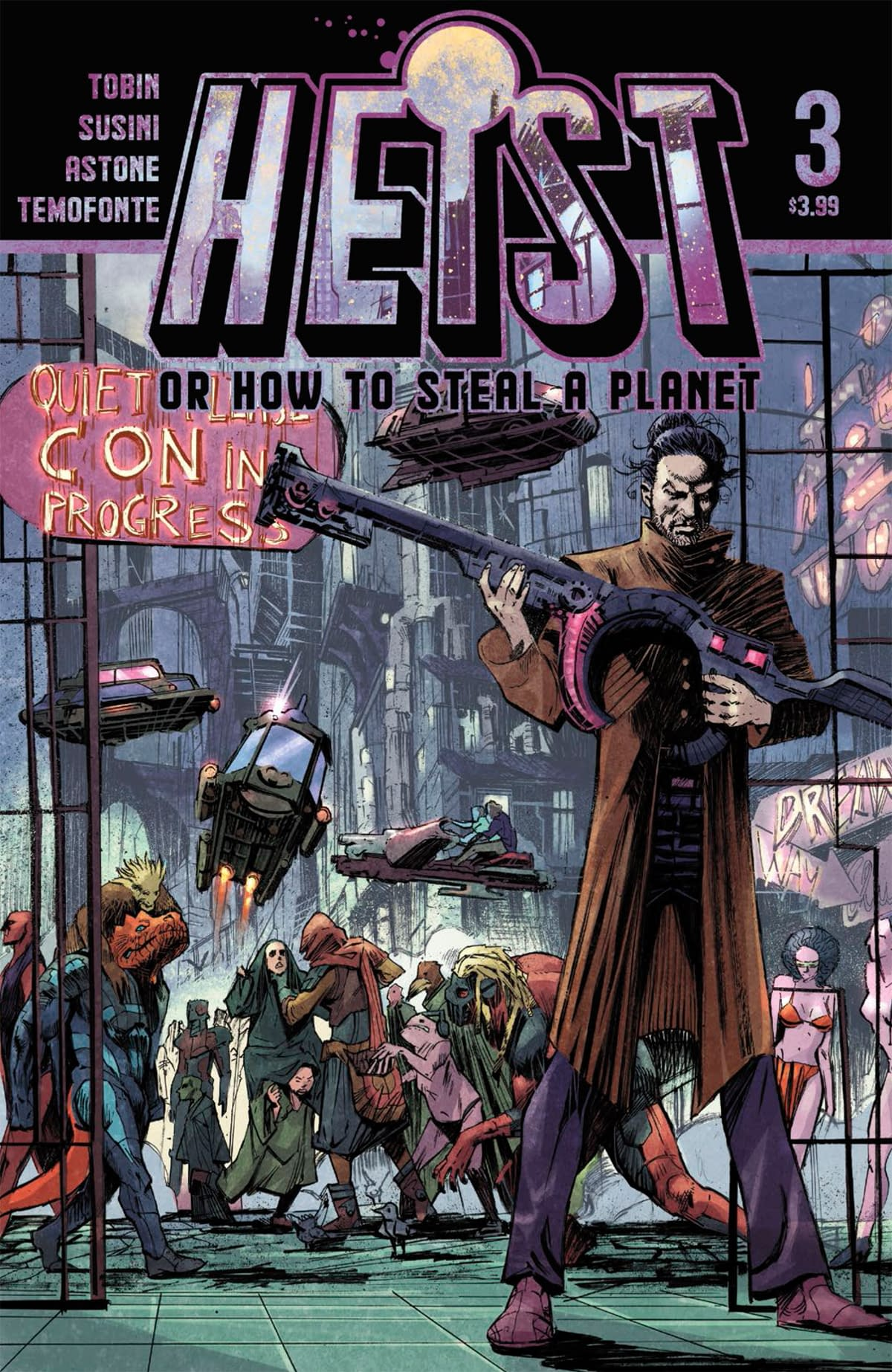 """REVIEW: Heist How To Steal A Planet #3 -- """"Numerous Wicked Twists Of Misdirection"""""""
