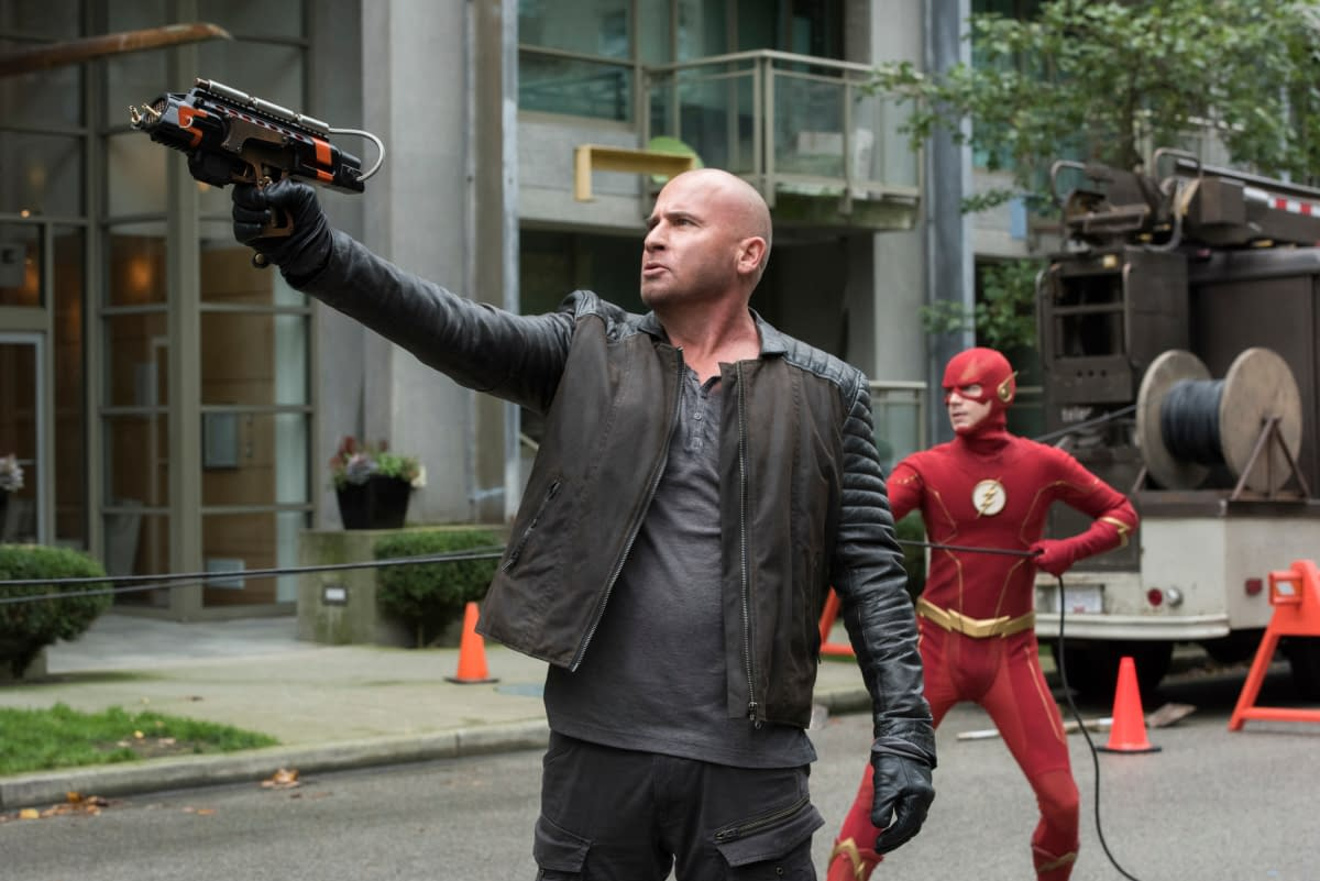 """""""Crisis"""" Management: Yup, Grant Gustin's The Flash Just Met [SPOILER] – Snyder Cut of """"Crisis"""" to Follow?"""