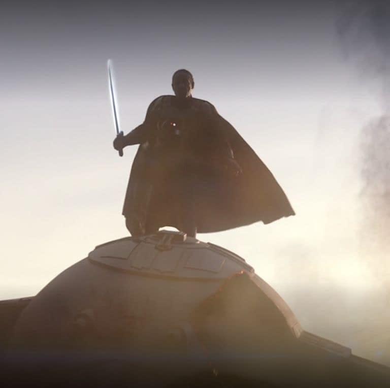 """The Mandalorian"": Giancarlo Esposito Talks Season 1 Finale, Joining ""Star Wars"" Universe"