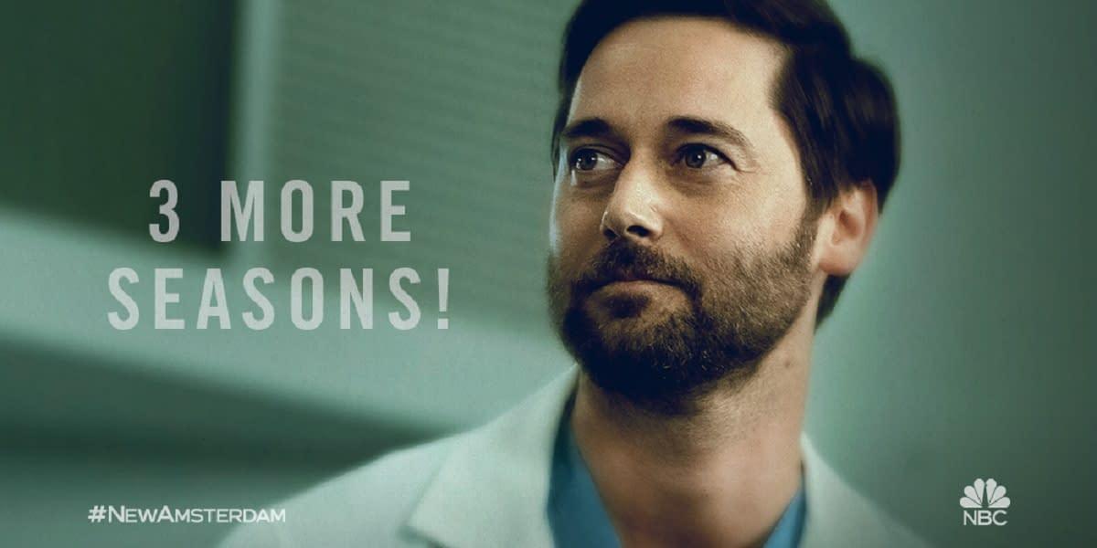 """New Amsterdam"": NBC Renews Medical Drama's Prescription for 3 More Seasons"