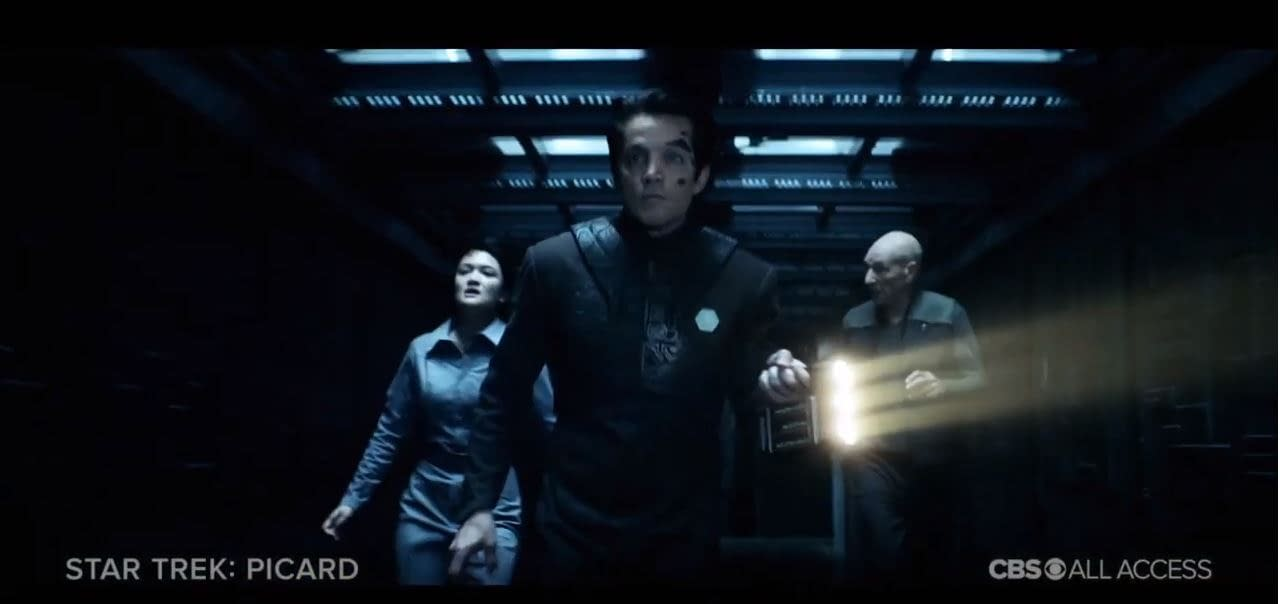 """Star Trek: Picard"": Jonathan Del Arco's Hugh Evokes Both His Late Partner's Memory, Own Life"