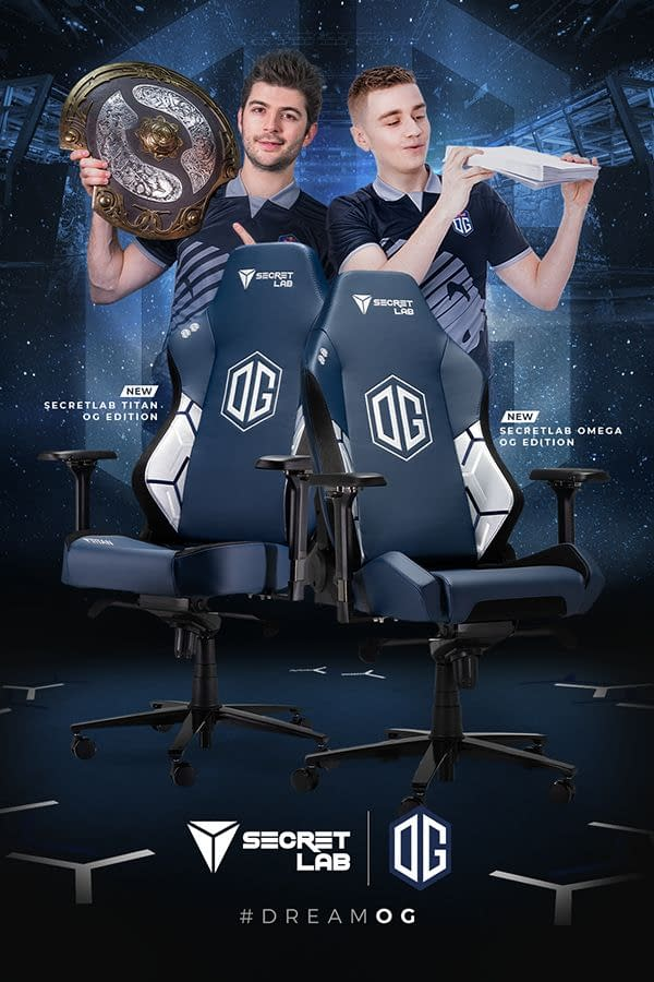 Secretlab Launches New Collaboration With Esports Team OG