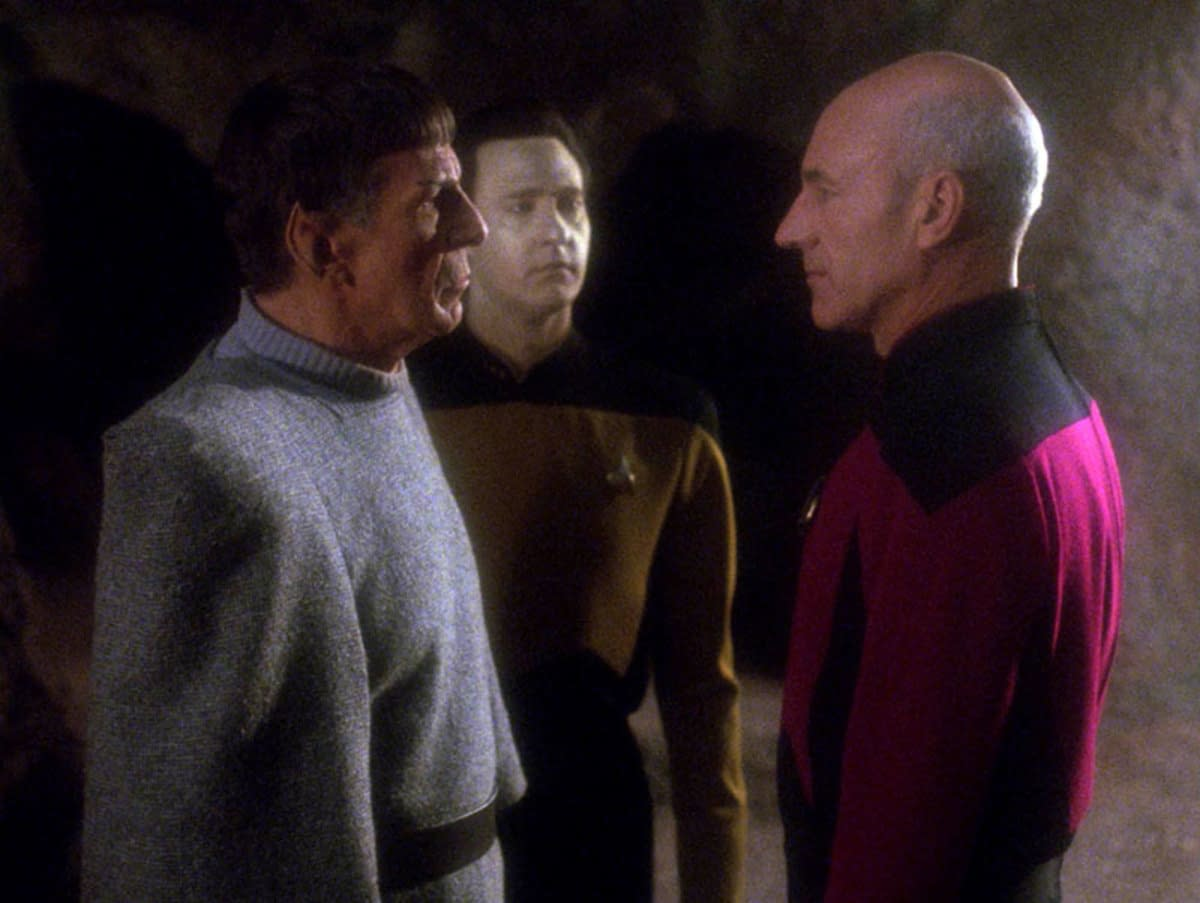 """Countdown to """"Star Trek: Picard"""": Reconsidering """"I, Borg"""" & """"Unification"""" [OPINION]"""
