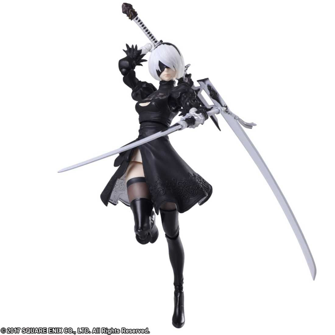 Nier Automata YoRHa 2B Gets Her Own Figure from Bring Arts