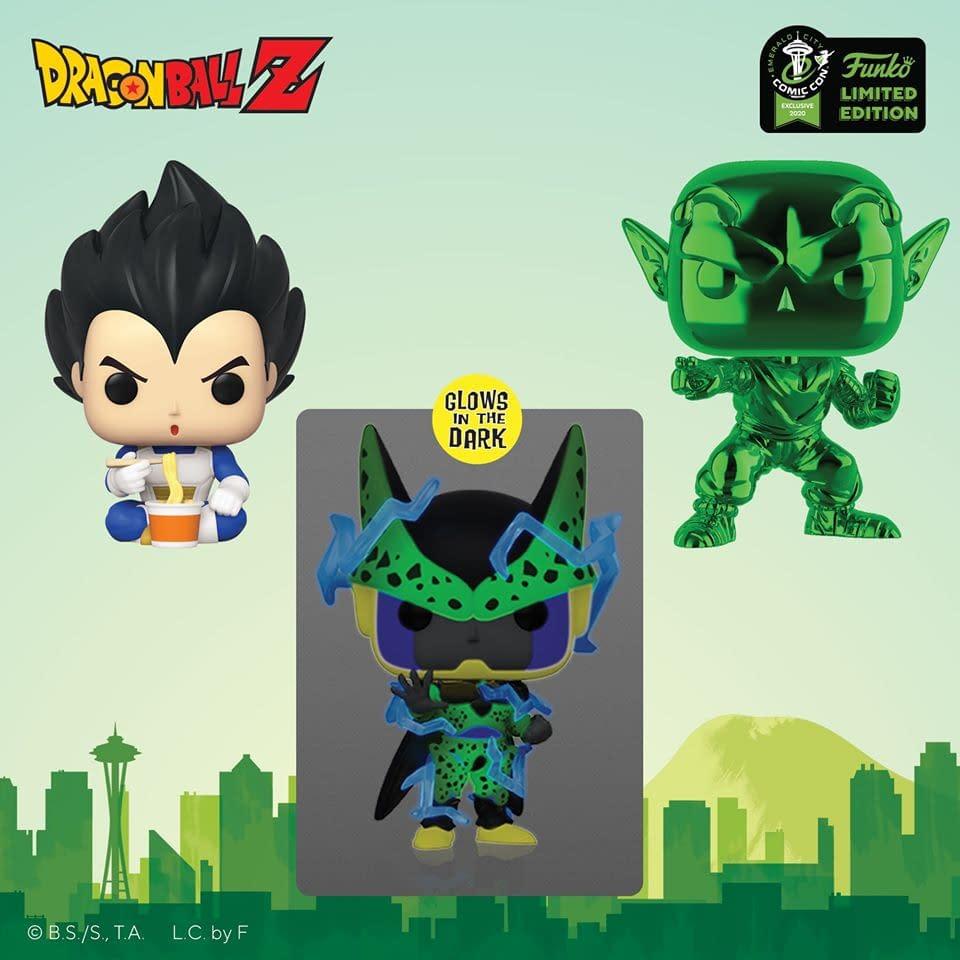 """Funko Emerald City Comic Con Reveals - """"Dragonball Z"""""""